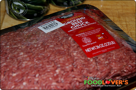 Ingredients - Ground Beef