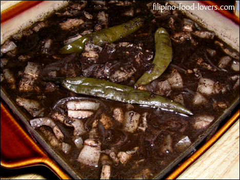 Dinuguan / Pork Blood Stew