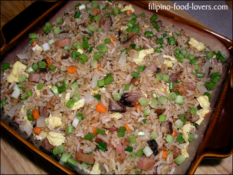 Pork fried rice ccuart Images