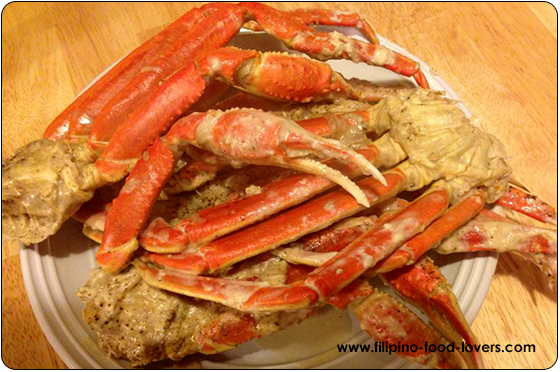 Ginataang Alimasag - Crabs in Coconut Milk