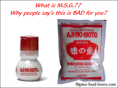 Monosodium Glutamate or/ MSG