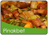 Pinakbet with pork and bagoong