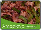 Ginisang ampalaya with pork and bagoong