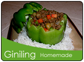 Ginisang giniling with bellpeppers