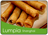 Lumpiang shanghai with pork and beef fillings