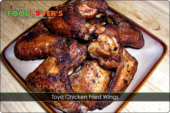 Toyo Fried Chicken Wings