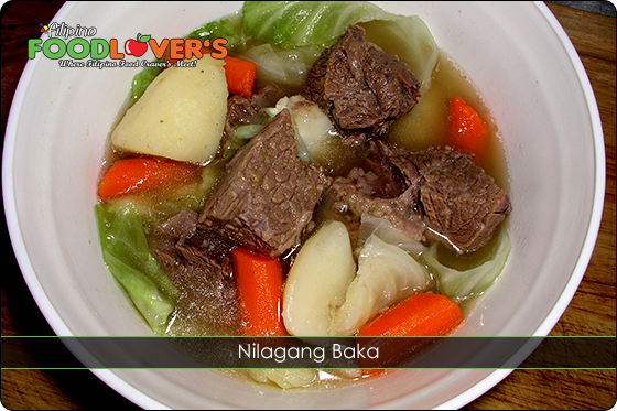 how to cook nilagang isda