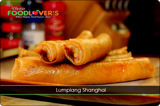 Lumpia - Shanghai is the premium version of all the Lumpia out there!