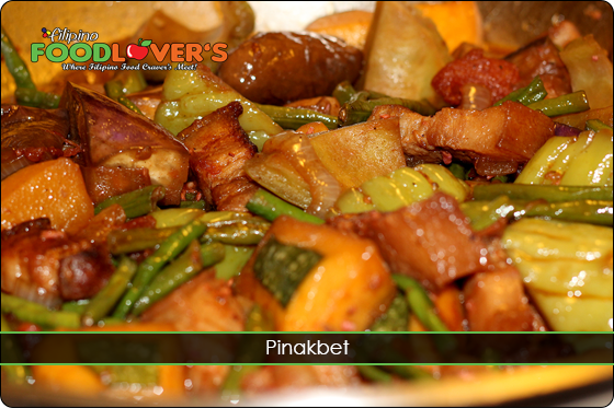 Pinakbet - Mix Vegetable Stew