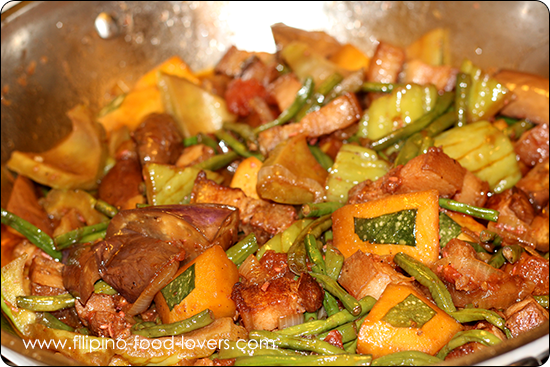 Pinakbet - Mix Vegetables Stew