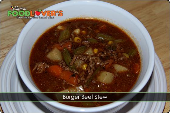 Burger Beef Stew