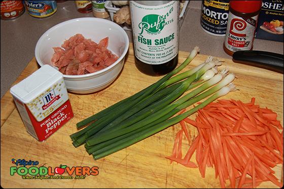 Fish Cakes Ingredients