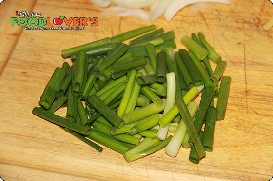 Sliced Green Onions/Scallions