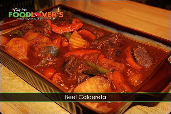 Beef Caldereta / Kaldereta