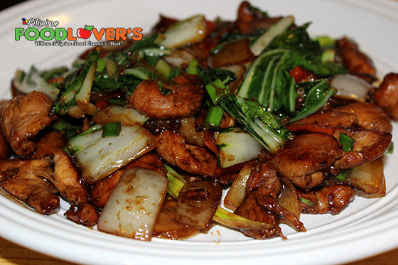 Stir-Fried Chicken With Bok Choy Recipe — Dishmaps